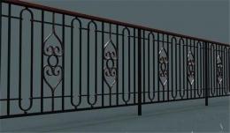 铁艺栏杆图片